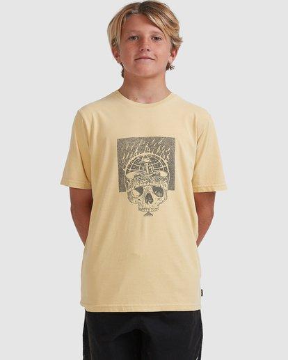 0 Boys 8-16 Medicine Short Sleeve Tee Yellow 8513010 Billabong