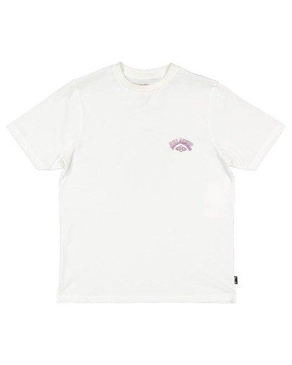 4 Boys 8-16 Tiger Waves Short Sleeve Tee White 8513014 Billabong