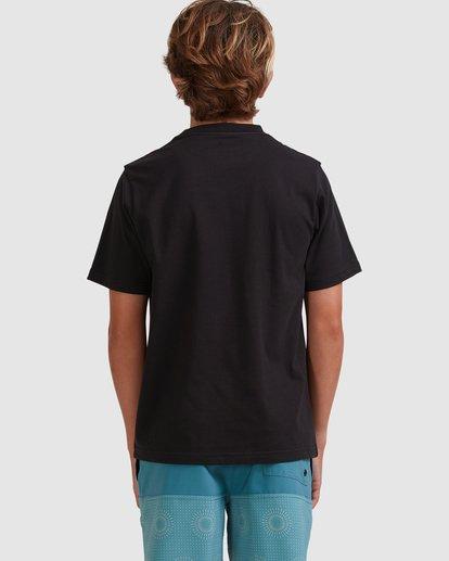 2 Boys 8-16 Smitty Short Sleeve Tee Black 8513015 Billabong
