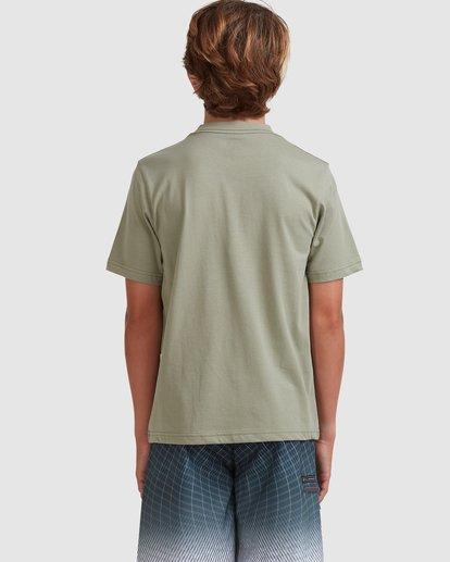 2 Boys 8-16 Smitty Short Sleeve Tee Green 8513015 Billabong