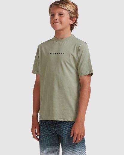 1 Boys 8-16 Smitty Short Sleeve Tee Green 8513015 Billabong