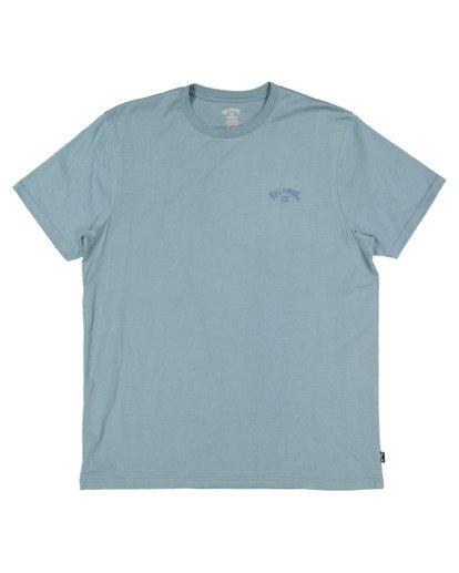 4 Boys 8-16 Puff Arch Short Sleeve Tee Blue 8513016 Billabong