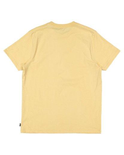 5 Boys 8-16 Puff Arch Short Sleeve Tee Yellow 8513016 Billabong