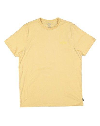 4 Boys 8-16 Puff Arch Short Sleeve Tee Yellow 8513016 Billabong