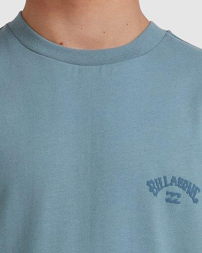 3 Boys 8-16 Puff Arch Short Sleeve Tee Blue 8513016 Billabong