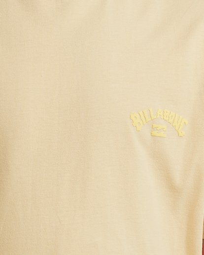 3 Boys 8-16 Puff Arch Short Sleeve Tee Yellow 8513016 Billabong