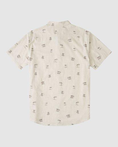 5 Boys 8-16 Sundays Mini Short Sleeve Shirt Beige 8513210 Billabong