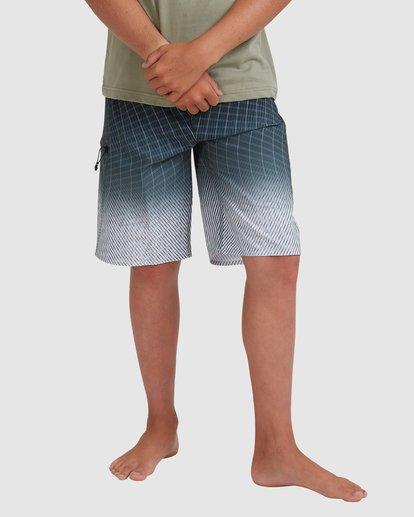 0 Boys 8-16 Fluid Pro Boardshorts Grey 8513413 Billabong