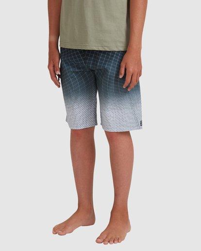 1 Boys 8-16 Fluid Pro Boardshorts Grey 8513413 Billabong