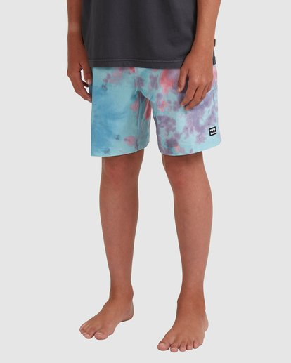 1 Boys 8-16 Sundays Layback Boardshorts Grey 8513425 Billabong