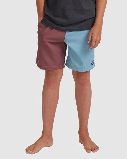 0 Boys 8-16 Interchange Layback Boardshorts Blue 8513428 Billabong