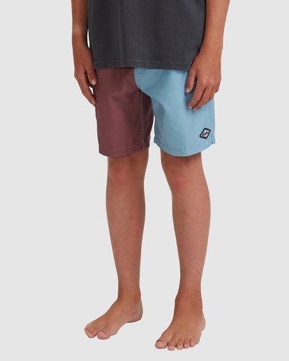 1 Boys 8-16 Interchange Layback Boardshorts Blue 8513428 Billabong
