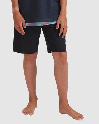 0 Boys 8-16 Fifty50 Panel Pro Boardshorts Blue 8513448 Billabong