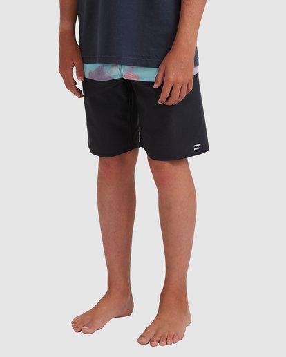 1 Boys 8-16 Fifty50 Panel Pro Boardshorts Blue 8513448 Billabong