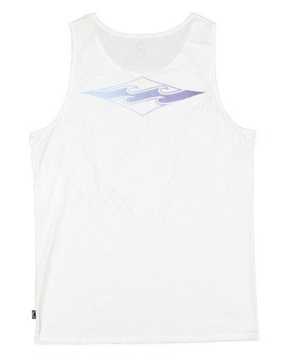 5 Boys 8-16 Core Diamond Muscle Tank White 8513502 Billabong