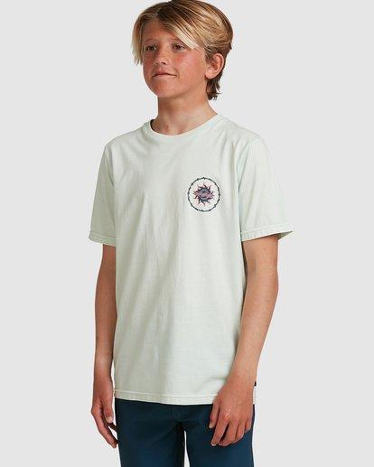 1 Boys Holey Moley Short Sleeve Tee Green 8517001 Billabong
