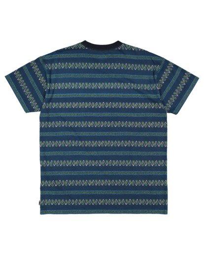 5 Boys 8-16 Full Rack Short Sleeve Tee Blue 8517003 Billabong