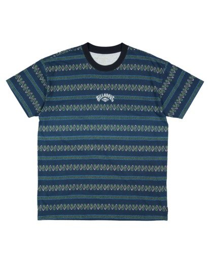 4 Boys 8-16 Full Rack Short Sleeve Tee Blue 8517003 Billabong