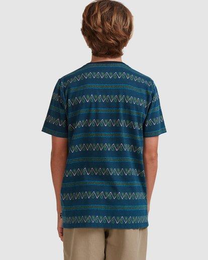 2 Boys 8-16 Full Rack Short Sleeve Tee Blue 8517003 Billabong