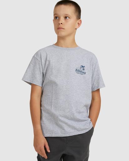 0 Boys 8-16 Foxtail Short Sleeve Tee Grey 8517021 Billabong