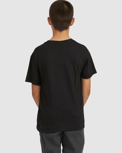 2 Boys 8-16 Stacked Short Sleeve Tee Black 8517023 Billabong