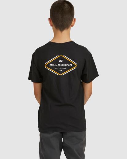 2 Boys 8-16 Access Boarder Short Sleeve Black 8517024 Billabong