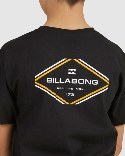 3 Boys 8-16 Access Boarder Short Sleeve Black 8517024 Billabong