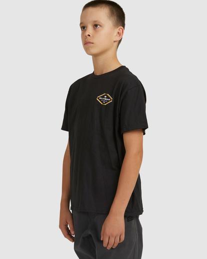 1 Boys 8-16 Access Boarder Short Sleeve Black 8517024 Billabong