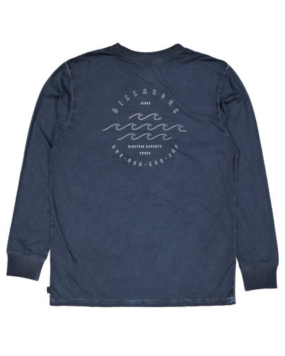 5 Boys Big Wave Dave Long Sleeve Tee Blue 8517170 Billabong