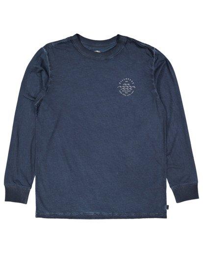4 Boys Big Wave Dave Long Sleeve Tee Blue 8517170 Billabong