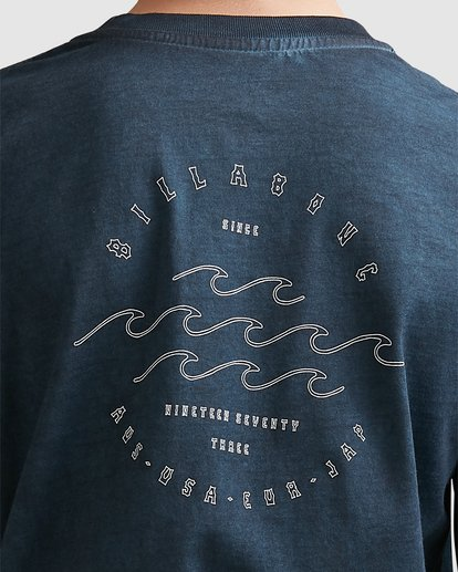 3 Boys Big Wave Dave Long Sleeve Tee Blue 8517170 Billabong
