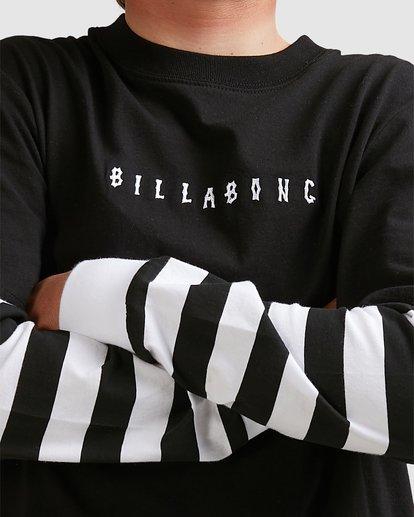 3 Boys Maze Long Sleeve Tee Black 8517171 Billabong