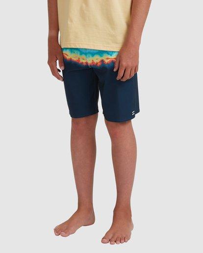 1 Boys 8-16 Fifty50 Pro Boardshorts Blue 8517414 Billabong
