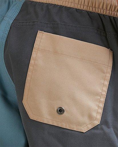 3 Boys Interchange Layback Boardshorts Grey 8517435 Billabong