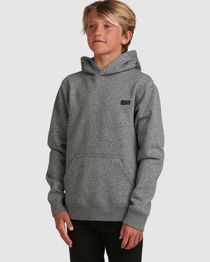 1 Boys Shoreline Pullover Grey 8517603 Billabong
