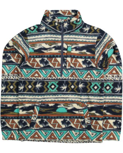 4 Boys Boundary Mockneck Grey 8517604 Billabong