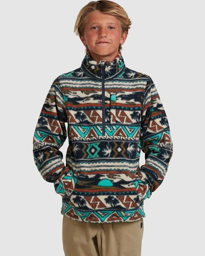 0 Boys Boundary Mockneck Grey 8517604 Billabong