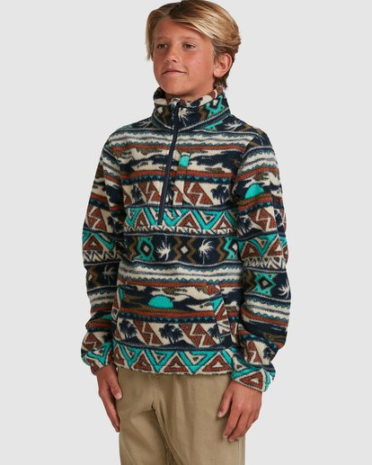 1 Boys Boundary Mockneck Grey 8517604 Billabong