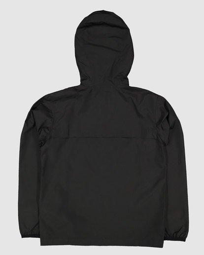 1 Boys Transport Windbreaker Jacket Black 8517901 Billabong
