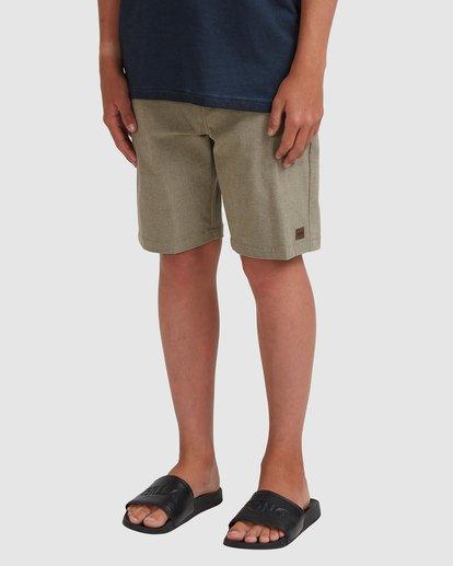 1 Boys 8-16 Crossfire Shorts Green 8518700 Billabong