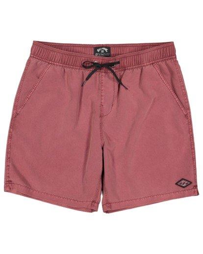 4 Boys 8-16 All Day Ovd Layback Boardshorts Pink 8572439 Billabong