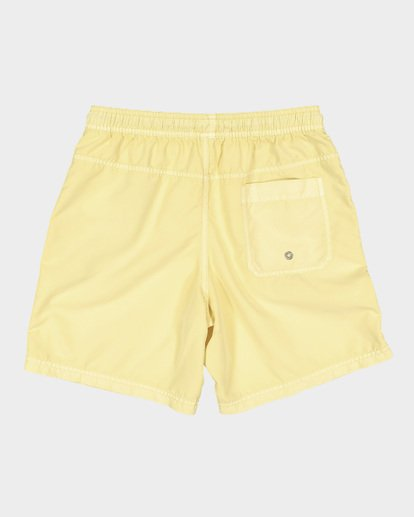 4 Boys All Day Overdye Layback Boardshorts Yellow 8572439 Billabong