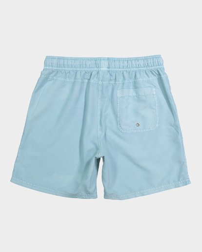 4 Boys All Day Overdye Layback Boardshorts Blue 8572439 Billabong