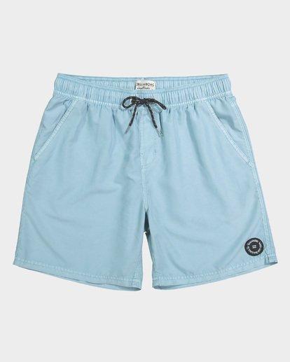 3 Boys All Day Overdye Layback Boardshorts Blue 8572439 Billabong