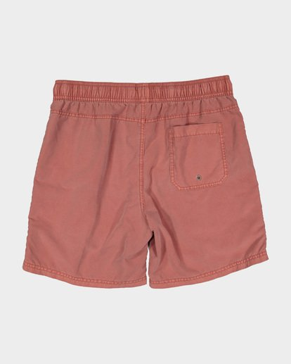 4 Boys All Day Overdye Layback Boardshorts Red 8572439 Billabong