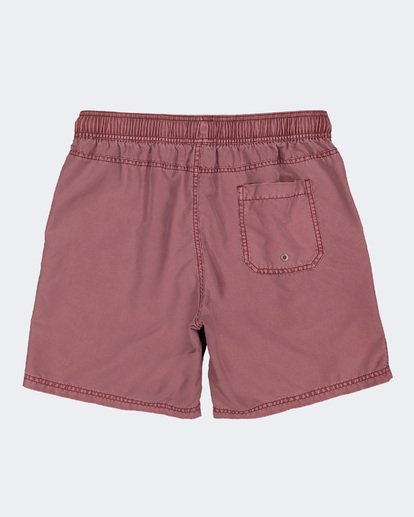 4 BOYS ALL DAY OVERDYE LAYBACK BOARDSHORTS Pink 8572439 Billabong
