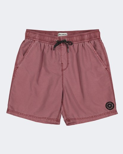 3 BOYS ALL DAY OVERDYE LAYBACK BOARDSHORTS Pink 8572439 Billabong