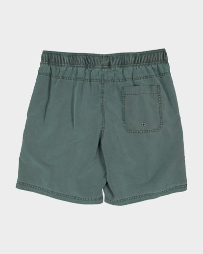 4 Boys All Day Overdye Layback Boardshorts Green 8572439 Billabong