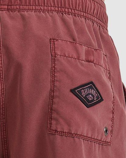 3 Boys 8-16 All Day Ovd Layback Boardshorts Pink 8572439 Billabong