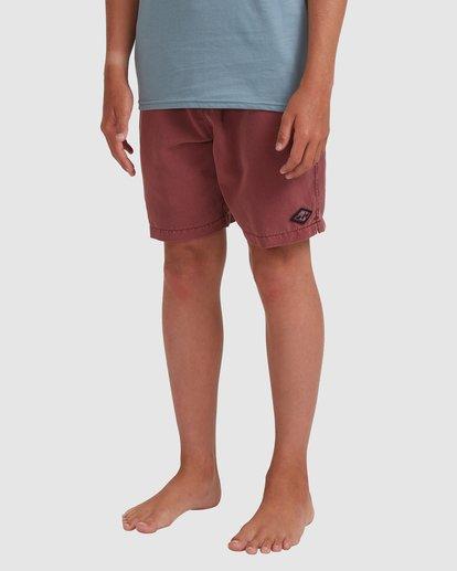 1 Boys 8-16 All Day Ovd Layback Boardshorts Pink 8572439 Billabong
